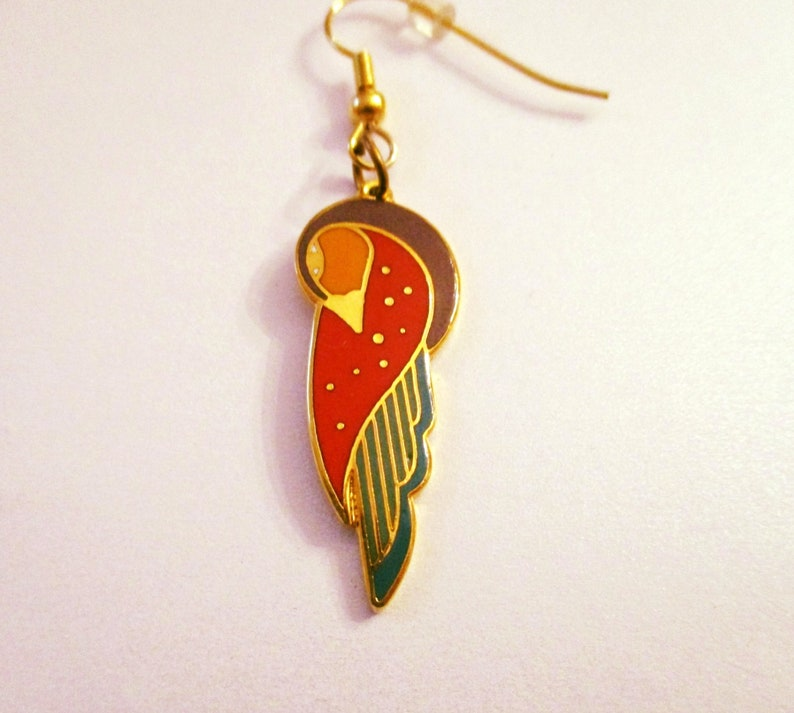 Laruel Burch Fan Pull Red and Yellow  NEW  FREE SHIPPING