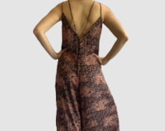 Coper Summer Floral Print Jumpsuit Harem Pants Outfits Suits For Little Girls