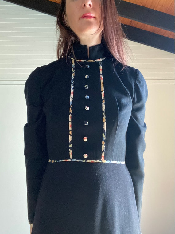 Vintage 70s Maxi Dress | Liberty Style Print | The
