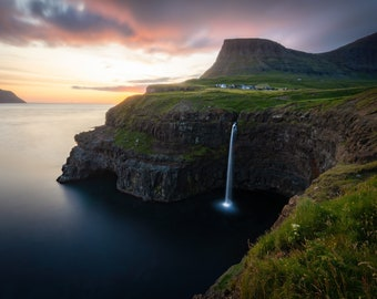 Nature Lover Gift ~ Mindfulness Gift ~ Faroe Islands