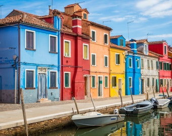 Italy Wall Art ~ Mediterranean Print ~ Venice Print ~ Fine Art Print