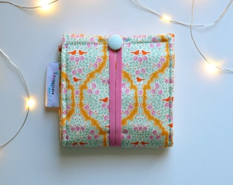 To Go Menstrual Kit - Designed to wear from woman's first to last period. Compact & Discreet. Fits Even in Small Purses. Woman Essentials.