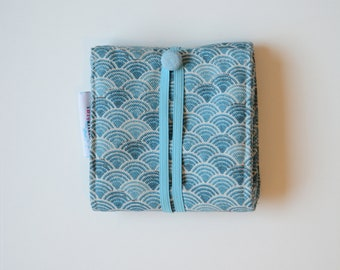 Period Kit- For the first time and next ones. Compact and Discreet it's perfect to have in school backpack. Fits even in smaller handbags.