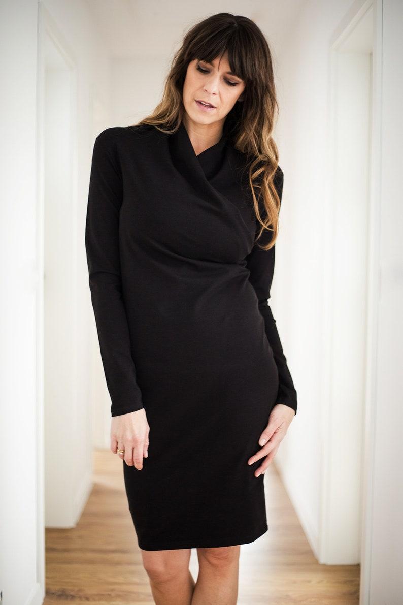c9d3f9b9d90e Black dress bodycon dress sexy dress wedding dress cotton   Etsy
