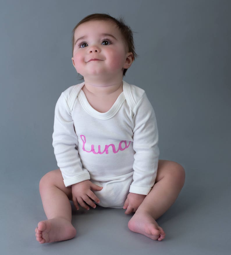 Personalized Onesie-Custom baby name onesie-Coming home outfit-personalised baby vest-Going home outfit-Baby Announcement onesie-Baby shower