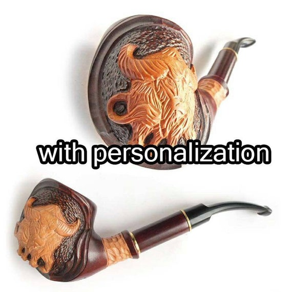 """Handmade Collectible 11/"""" Wooden Hookah Tobacco Smoking Folding Style Wood Pipe"""