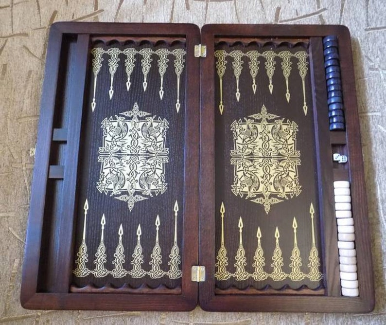 picture relating to Printable Backgammon Board titled Picket Backgammon Fixed Board Video games Large Backgammon Mounted Backgammon Board Wood Backgammon Recreation Picket Backgammon