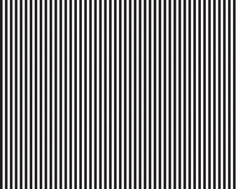 Riley Blake Eighth Inch Stripe, White and Black, C495-BLACK, fabric by the yard