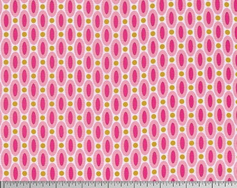 Free Spirit, True Colors by Joel Dewberry, Abacus in Pink, fabric by the yard