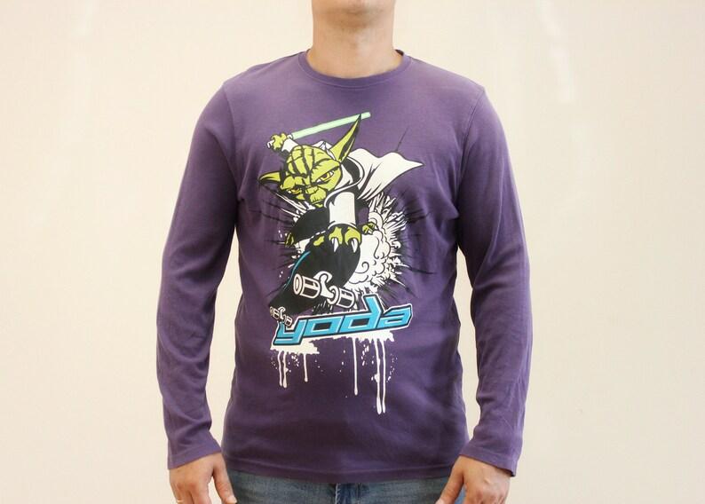 Star Wars Yoda Sweatshirt Cotton Sweatshirt Made in 2013