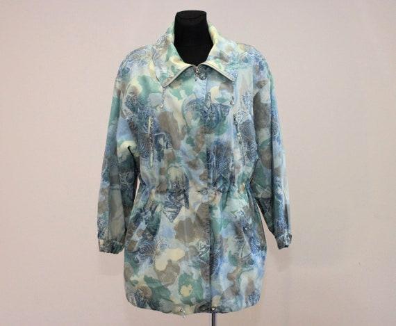 Übergroße Größe Windbreaker Groß Grün Outdoor Blau Damen Gelb Vintage Jacke Hipster Colorblock dCBrxoeWQ