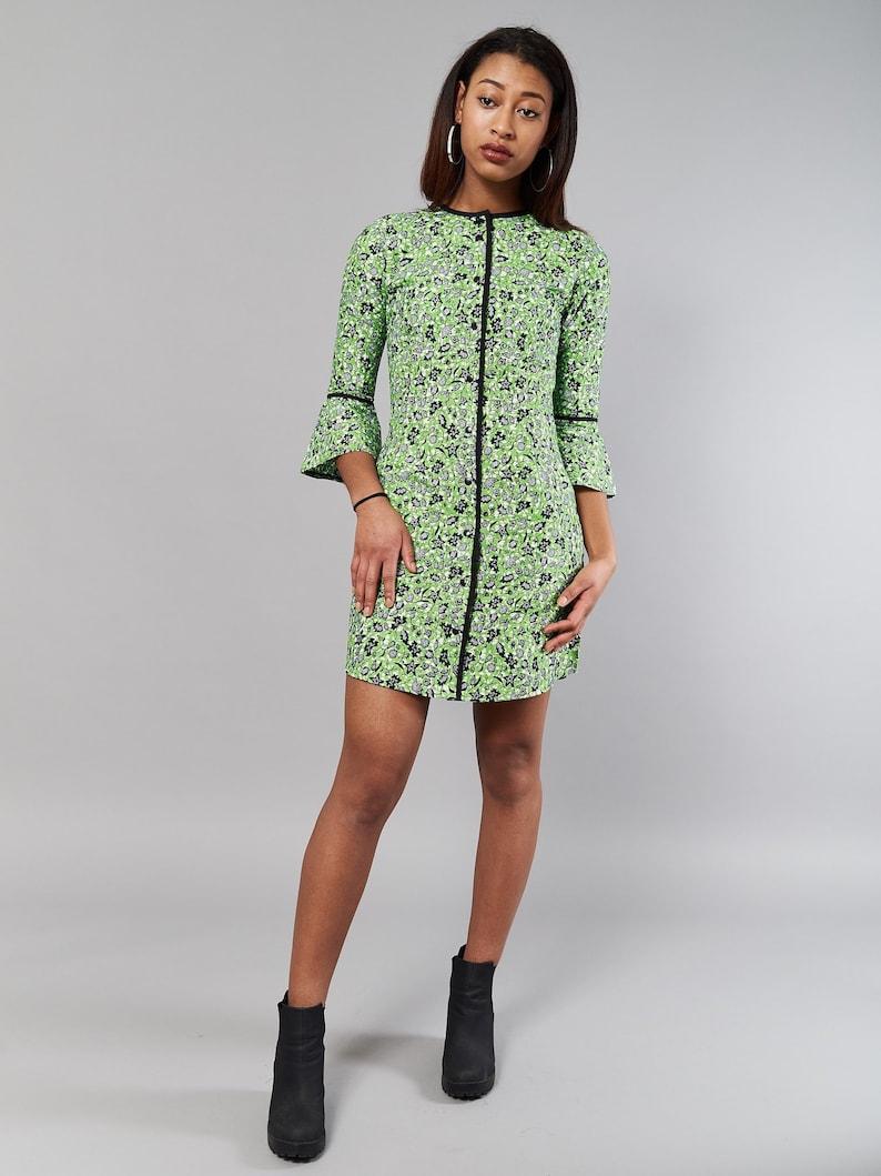 cb0c6d0f1b8e5c Orchid shirt dress // Kitenge dress // dresses for women // | Etsy