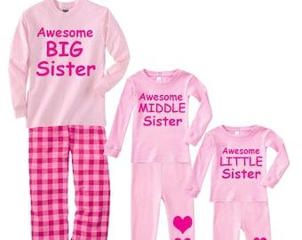 563857fdd Sister pajamas