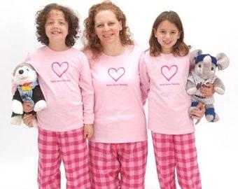 6860b7449 Matching family pajamas
