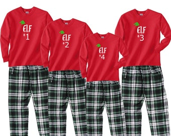e394b3719 Family matching christmas pajamas