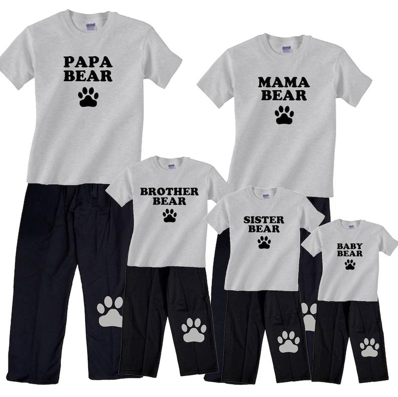f7a32f99d0 Bear Family Matching Pajamas for the Whole Family Mama Bear