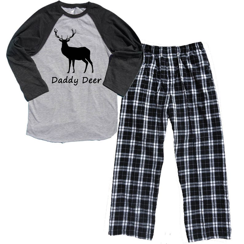 eb04afd887 DADDY DEER Pajamas for Men Great New Father Gift Match with