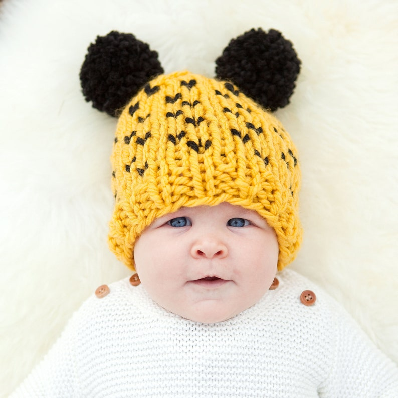 PERSONALISED HARRY POTTER New White Knotted or Beanie Baby Hat Newborn Gift