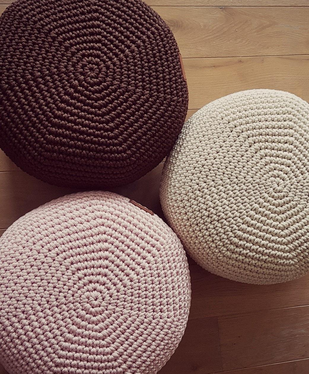 tr s joli b b rose pouf 16 39 39 pour b b chambre pouf etsy. Black Bedroom Furniture Sets. Home Design Ideas