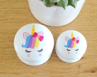Unicorn Drawer Knob, Unicorn Knob, Unicorn Pull, Dresser Pull, Dresser Knob, Girls Room, Nursery Decor, Unicorn Nursery, Rainbow, Handles.