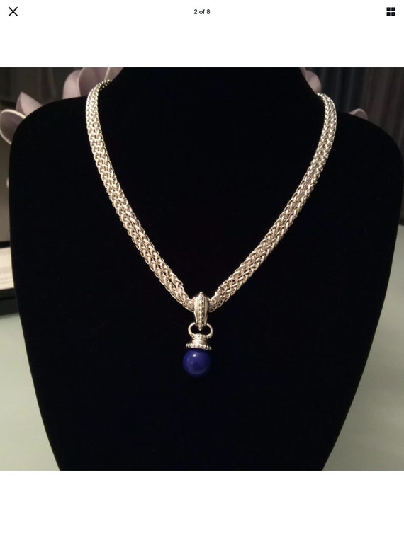 Joan Rivers 10 Color Interchangeable Bead Pendant