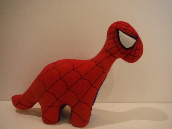 Spiderman Dinosaur Soft Toy | Etsy