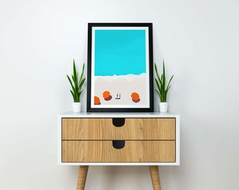 The Ocean printable wall art ,Coastal Prints Wall Art,Prints,Wall Decor, Printable Art,Home Decor