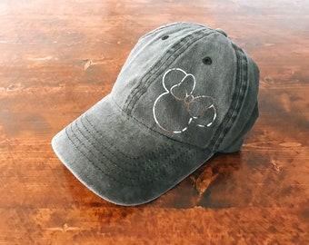 Minnie Gray Hat   Disney Vacation   Minnie Mouse (Silver Foil) 9746dcd77e37