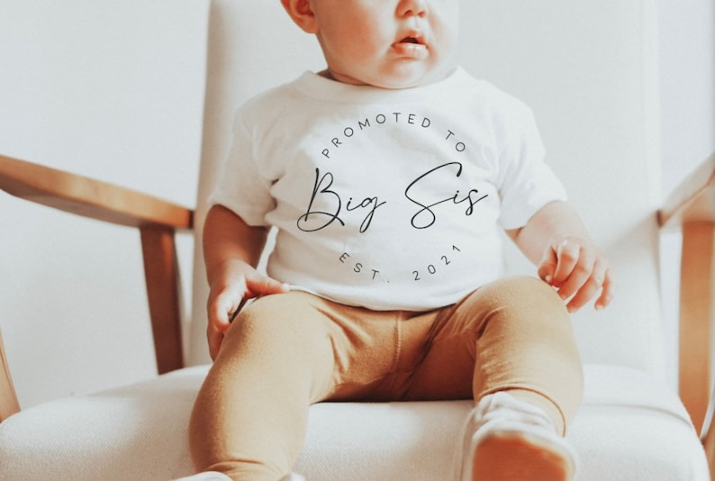 Big Brother  Little Brother  Big Sister  Little Sister  Matching Tees  Pregnancy Announcement Promoted To..