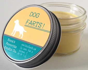 Dog Lover Gift, Funny Candle, Scented Candles, Gift for Her, Gift for Him, Dog Candle, Dog Farts, New Dog Gift, pet gift, dog owner gift
