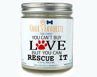 Fur Mama Gift, Scented Candle, Dog Lover Candle, Dog Lover Gift, Pet Gift, Gift for Dog Lover, Rescue Dog Gift, Gift for Her Gift for Him