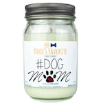 Scented Candle Dog Lover #Dog Mom 16 oz. Candle Dog Lover Gift Dog Person Animal Rescue Candle Gift for Her Gift for Him Dog Mom Candle