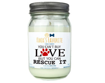 Gifts for Dog Lovers, Scented Candle, Dog Lover Gift, Dog Person, Animal Rescue Candle Dog Owner Gift Pet Gift Gift for Her Gift for Him Dog