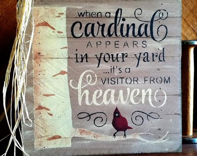 Primitive When A Cardinal Sign, Cardinal Heaven Sign, Cardinal Sign, Heaven Sign
