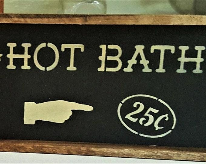 Bath Signs - Mini - Bathroom - Bath - Bath Tub