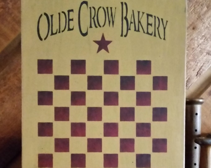 Primitive Olde Crow Bakery GameBoard