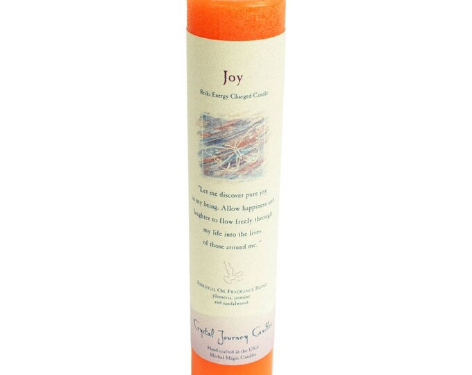Joy Reiki Energy Charged Candle