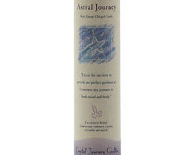 Astral Journey Reiki Energy Charged Candle
