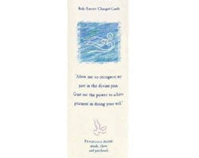 Power Reiki Energy Charged Candle