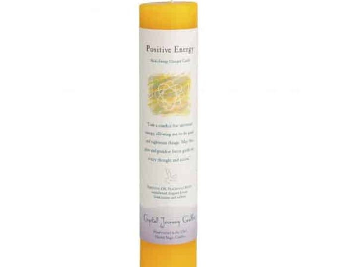 Positive Energy Reiki Energy Charged Candle