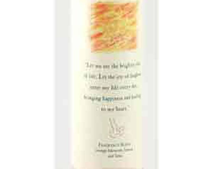 Laughter Reiki Energy Charged Candle