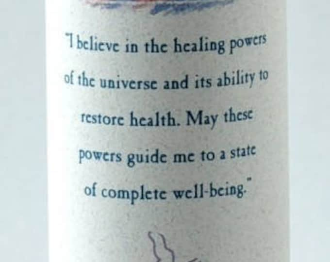 Good Health Reiki Energy Charged Candle