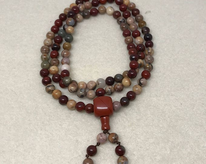 Venus & Apple Jasper Mala