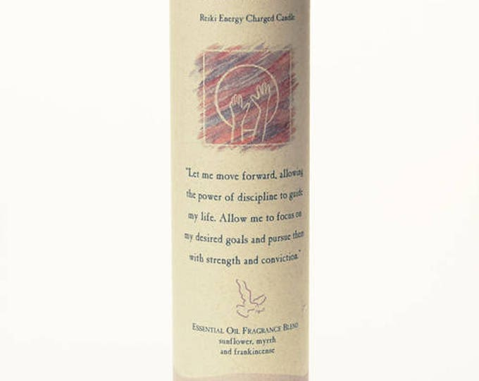 Motivation Reiki Energy Charged Candle