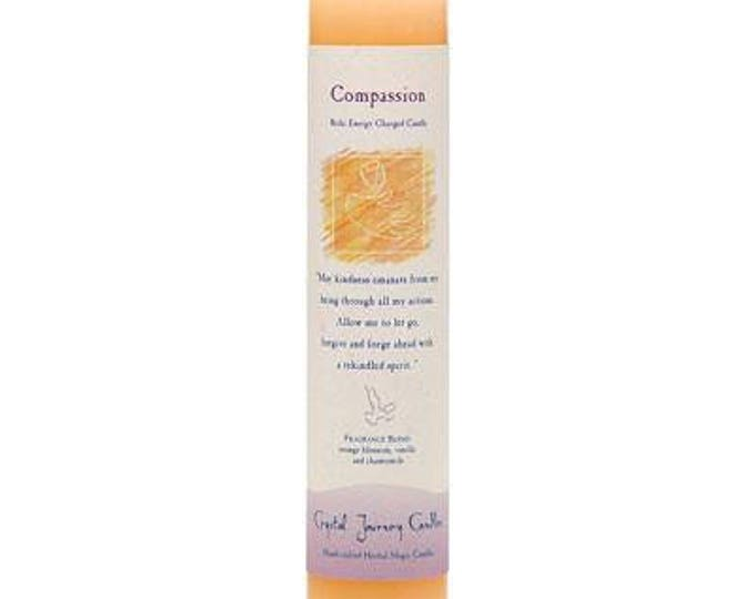 Compassion Reiki Energy Charged Candle