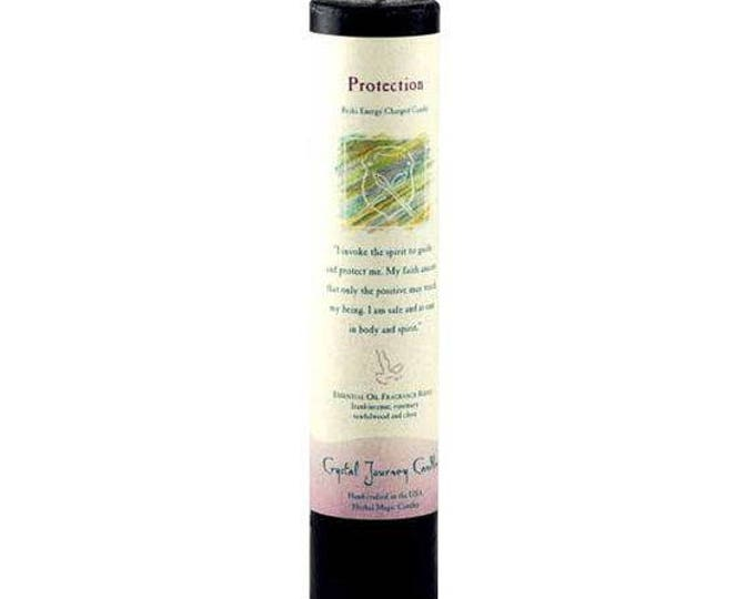 Protection Reiki Energy Charged Candle