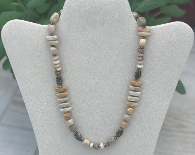 Fossil Jasper Necklace