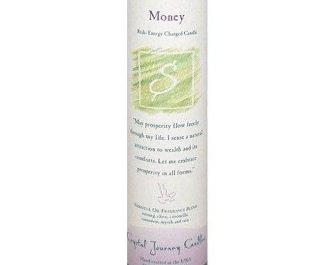 Money Reiki Energy Charged Candle
