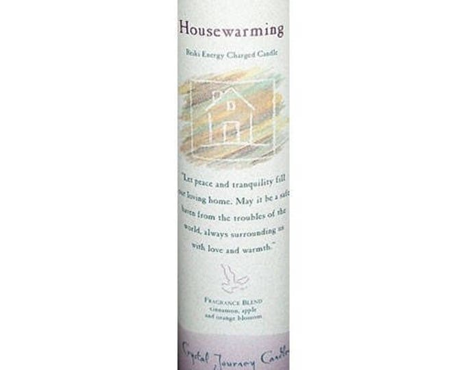 House Warming Reiki Energy Charged Candle