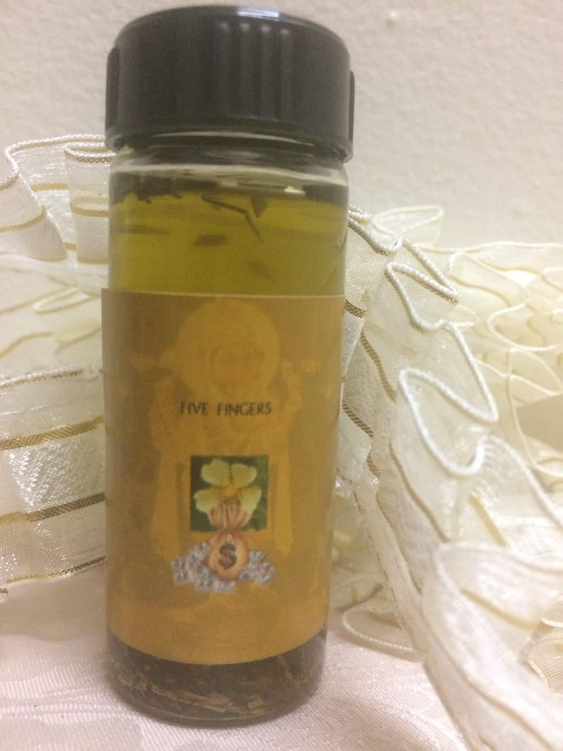 ORIGINAL* ITCHING PALMS five finger oil (Luck, Love & Prosperity)